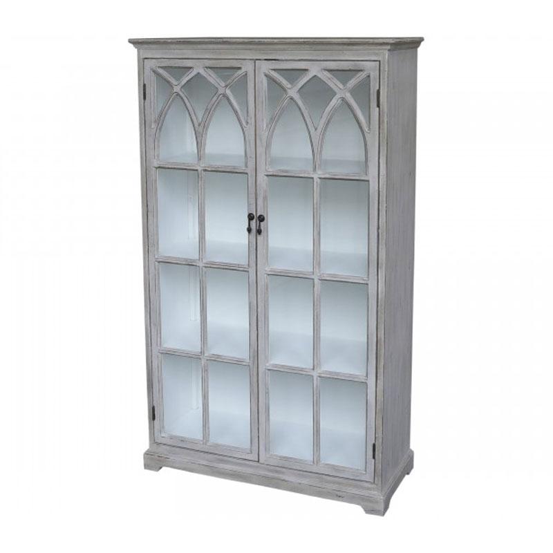 Display-Cabinet-with-Cross-Doors