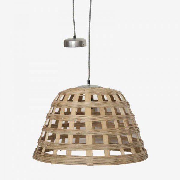Natural Wicker Ceiling Lamp