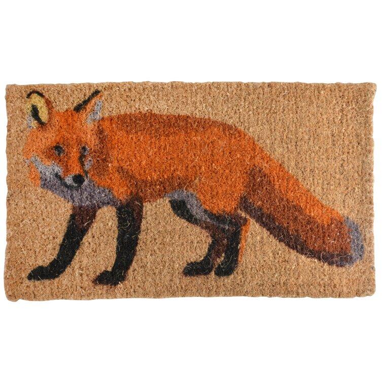 Corena Fox Cocos Door Mat